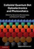 Colloidal Quantum Dot Optoelectronics and Photovoltaics