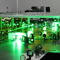 Powering-up with lasers