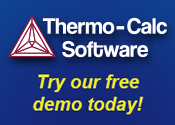 Thermo-Calc Software - Try our free demo today!