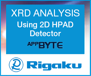 Rigaku - XRD ANALYSIS Using 2D HPAD Detector AppBYTE