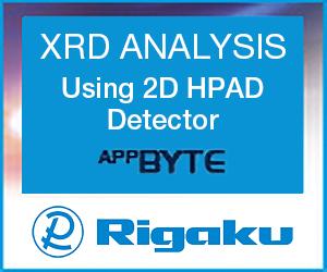 Rigaku - XRD ANALYSIS Using 2D HPAD Detector AppBYTE
