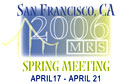 2006 MRS Spring Meeting Logo