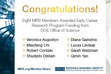 Early Career researchers DOE awardees_360x240