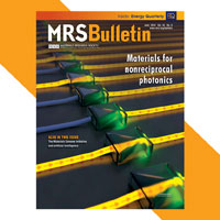 MRS Bulletin June Cover
