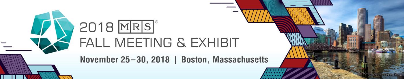2018 MRS Fall Meeting & Exhibit   Boston