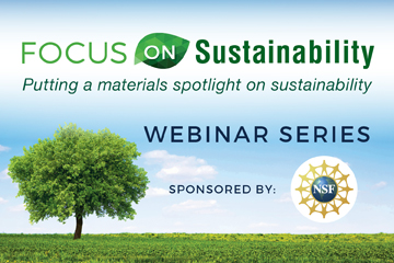 Focus on Sustainability Webinar Series