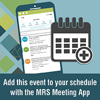 Add to this event to your schedule using the MRS Meeting App