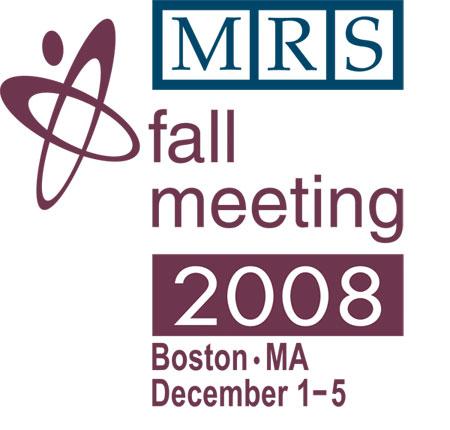 Symposium Session | 2008 MRS Fall Meeting | Boston