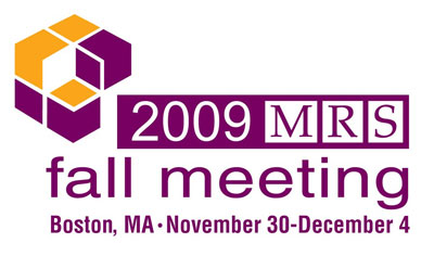 MRS Fall 2009 Meeting Logo