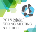 2015 MRS Spring Meeting Logo